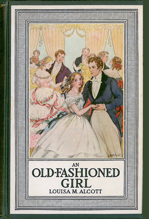 Old Fashioned Book Cover : An old fashioned girl louisa may alcott cover