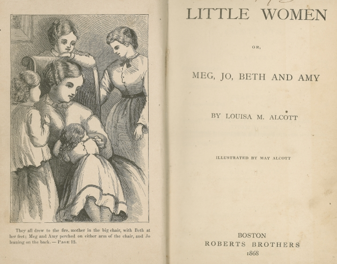 an analysis of the book little women by louisa may alcott Little women may be a children's book, and it may have a fluffy, cozy, domestic feel but louisa may alcott was the daughter of a well-read philosopher, and her command of language is impressive s.