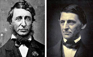 thoreau and emerson