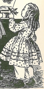 Illustration by Flora Smith for The Story of Louisa May Alcott by Joan Howard