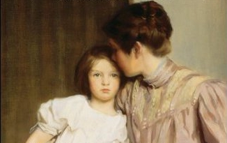 from the cover of Marmee and Louisa by Eve LaPlante
