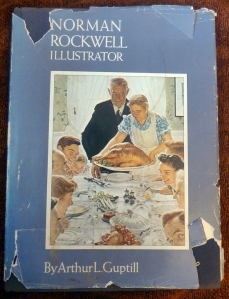 book cover norman rockwell illustrator by arthur guptill