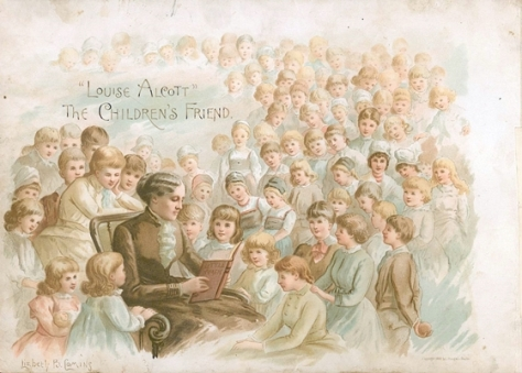 louisa may alcott the children's friend frontpiece