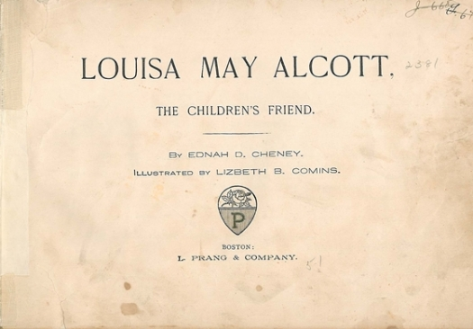 louisa may alcott the children's friend title page