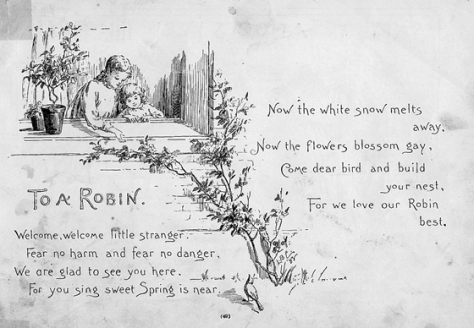 to a robin