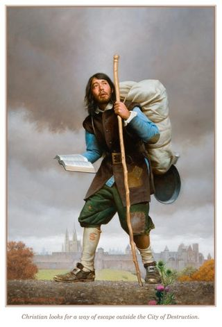 The Pilgrim's Progress by Bunyan John, First Edition