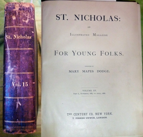 st nicholas magazine for young folks 1887-1888