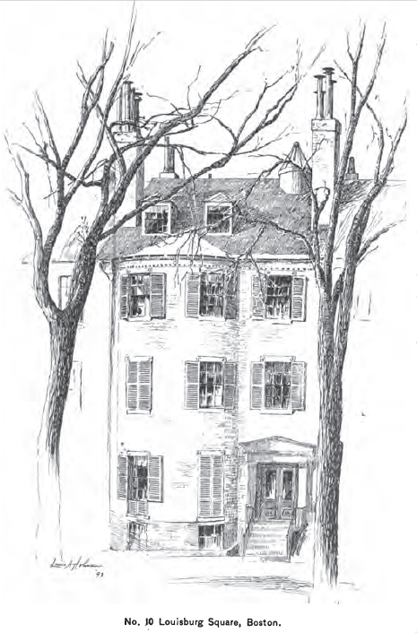 """from """"Recollections of Louisa May Alcott"""" by Maria S. Porter"""