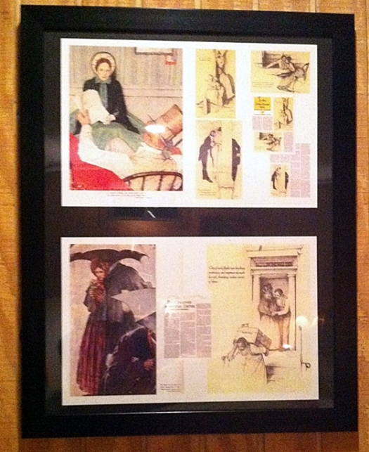 woman's home companion the most beloved american writer katharine anthony norman rockwell-1