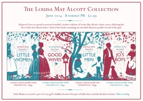 hesperus press little women collection 2014