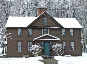 Orchard House snow