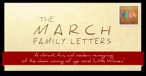 the march family letters header