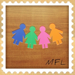 the march family letters logo