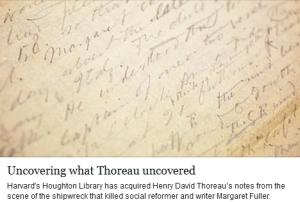 thoreau discovery