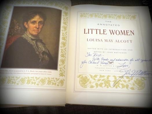 a cherished signed copy